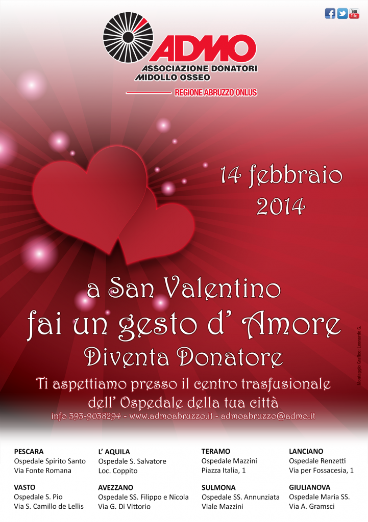 flyer San Valentino 2014