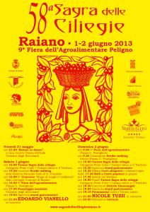 flyer 58a sagra delle ciliegie
