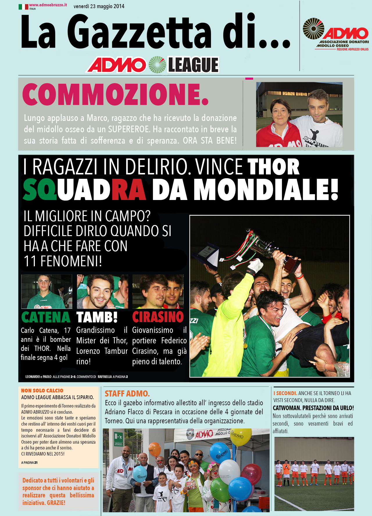 La Gazzetta di 23-05-14 1280