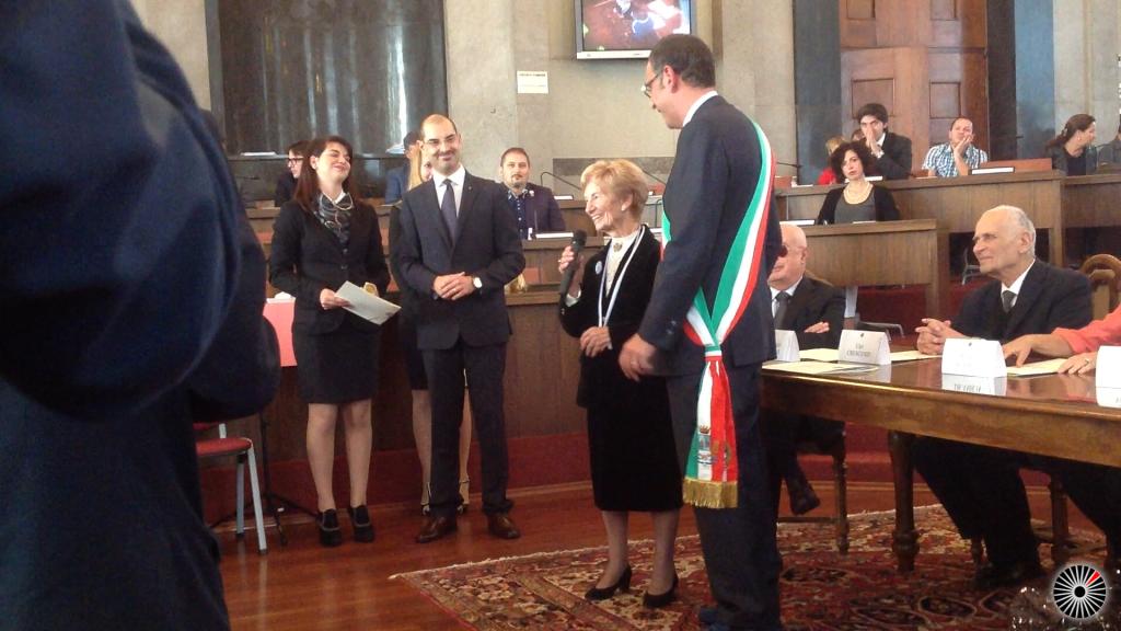 Foto Albertini e Sindaco