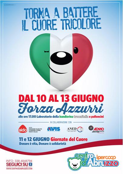 Poster Torna a battere il Cuore Tricolore 2016